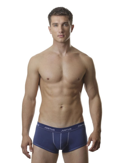 Justus Blue Fitted Stitch Trunk