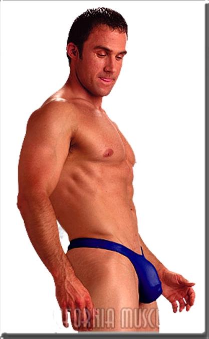 California Muscle Hangman Swim Thong