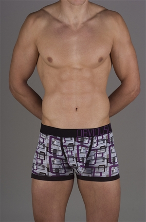 Obviously Low Rise Boxer - Geometric Collection