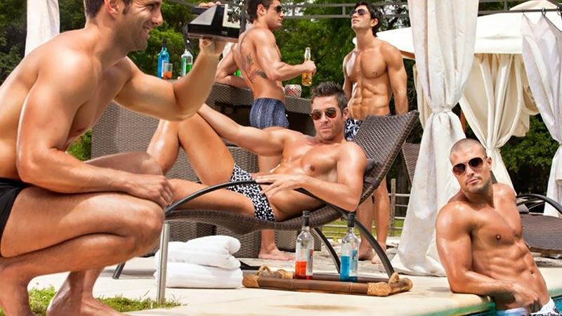 Mens Swim Party