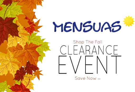 Fall Mensuas Clearance Sale